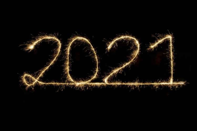 2021 escrito con fuego